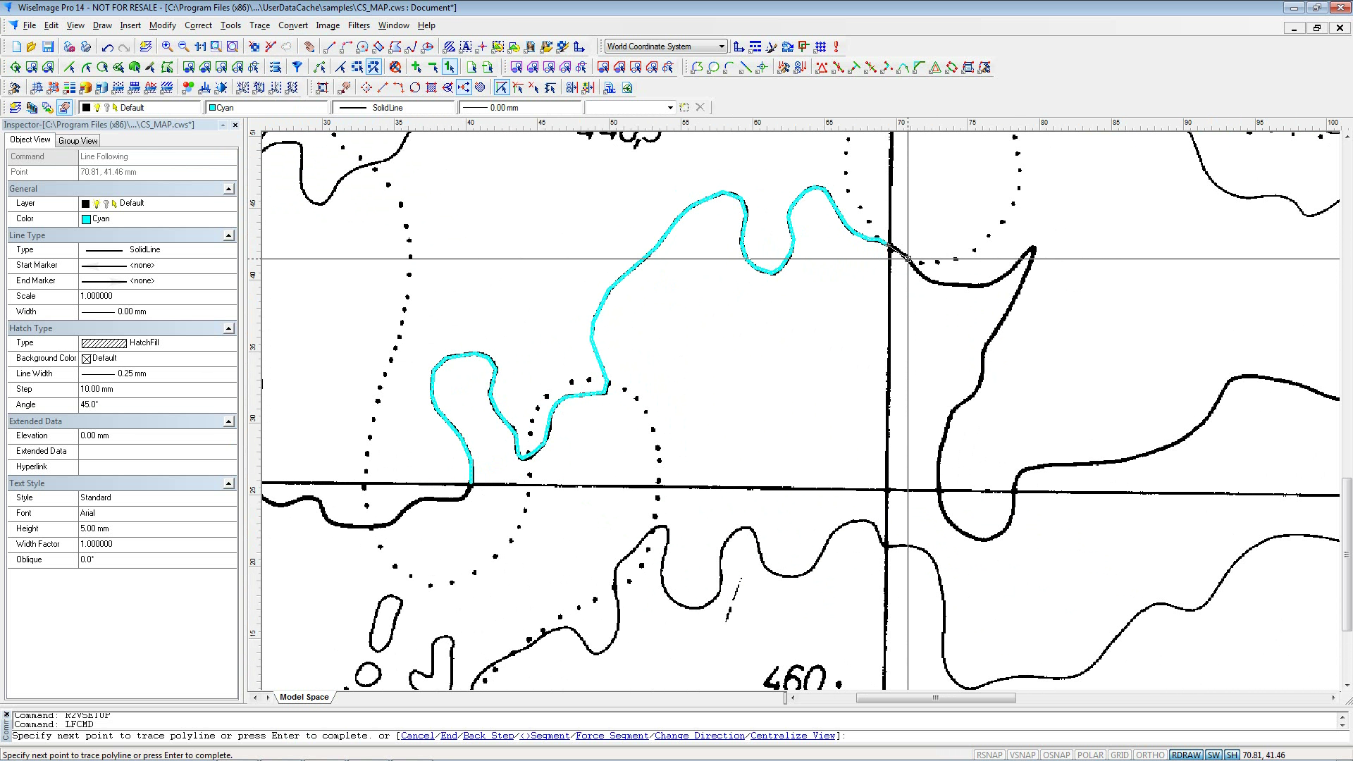 Digitizing Contour Maps for CAD or GIS Has Never Been Easier ... on advertising maps, organizing maps, painting maps, digimon world 4 maps, surveying maps,